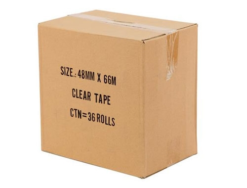48mm x 66m Clear Packing Tape - 2