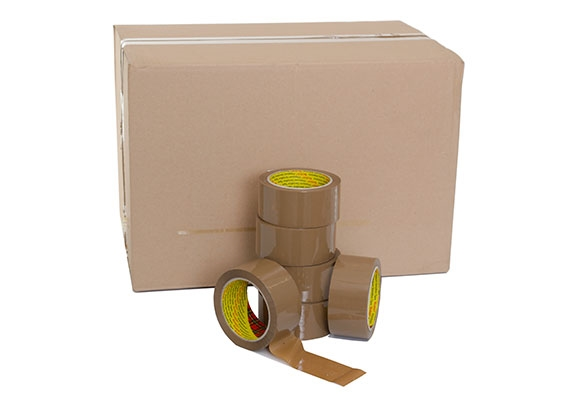 3M 309 Low Noise Brown Packing Tape