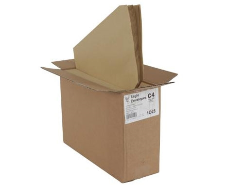 C4 Manilla Envelope - Self Seal - Pocket - 90gsm - 2