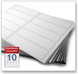 10 Per Sheet SmartStamp Labels  - 2