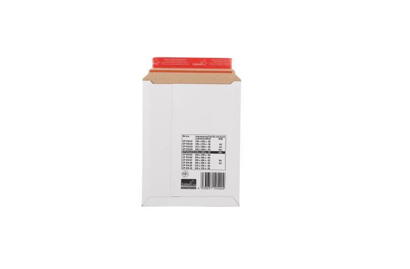 CP 010.54 ColomPac Corrugated Envelopes - White - 3