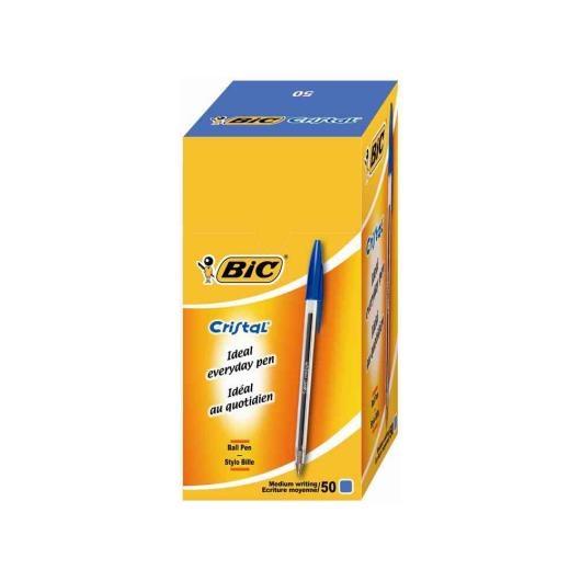 Blue Bic Cristal Medium BallPen - 2