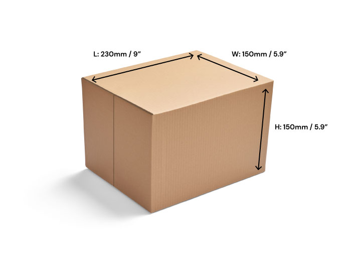 Direct Packing Box - Size A5