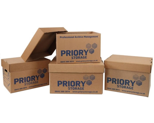 457 x 380 x 260mm Cardboard Archive Boxes
