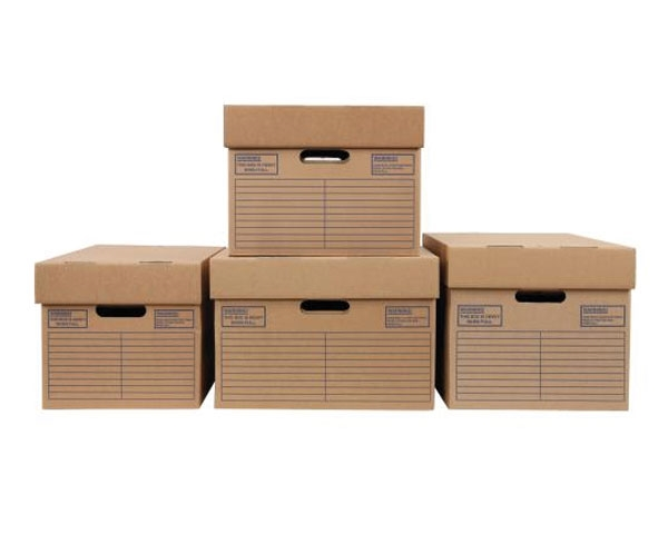 457 x 380 x 260mm Cardboard Archive Boxes - 3