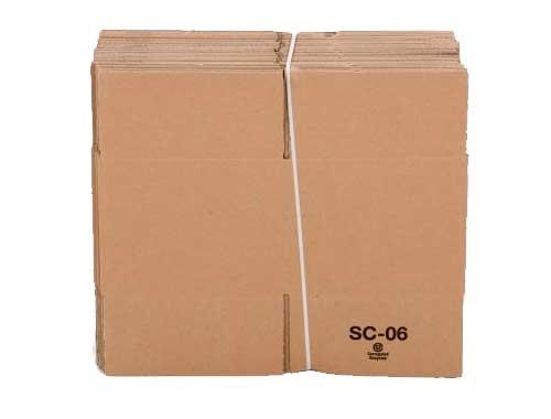 229 x 222 x 171mm Single Wall Cardboard Boxes - 2