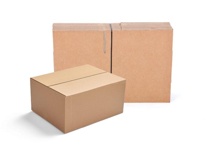 305 x 229 x 178mm Single Wall Cardboard Boxes - 5