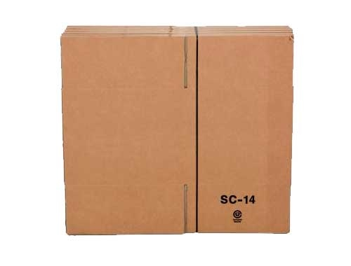 381 x 330 x 305mm Single Wall Cardboard Boxes - 2