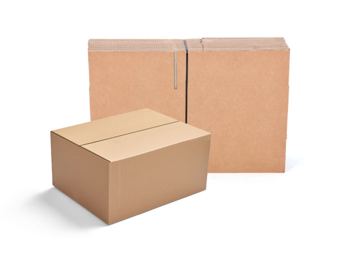 381 x 330 x 305mm Single Wall Cardboard Boxes - 5