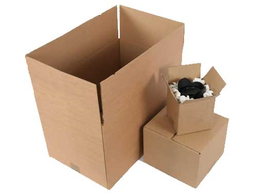 457 x 457 x 457mm Double Wall Cardboard Boxes - 4