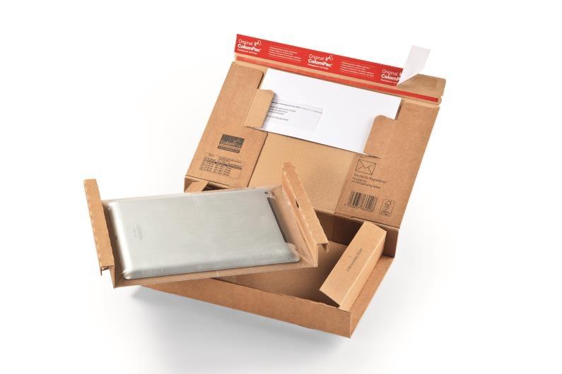 ColomPac Extra Secure Postal Box - 300 x 212 x 43mm