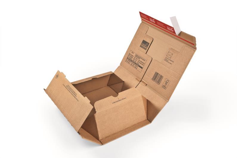 ColomPac Extra Secure Postal Box - 300 x 212 x 43mm - 2