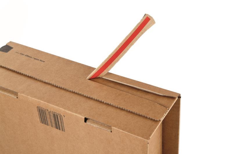 ColomPac Extra Secure Postal Box - 300 x 212 x 43mm - 3