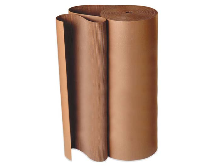 450mm x 75m Corrugated Cardboard Roll