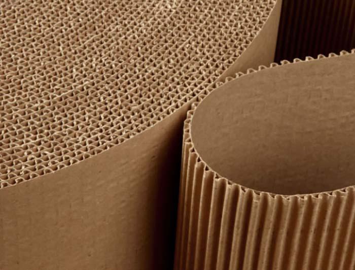 450mm x 75m Corrugated Cardboard Roll - 2