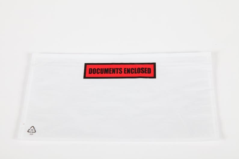 A6/C6 Document Enclosed Wallet - Printed