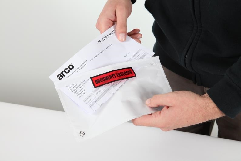 DL Document Enclosed Wallet - Printed - 3