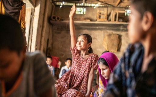 Save the Children school shot